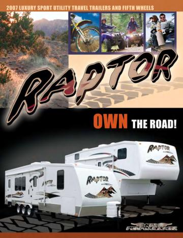 2007 Keystone RV Raptor Brochure