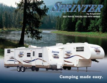 2007 Keystone RV Sprinter Brochure