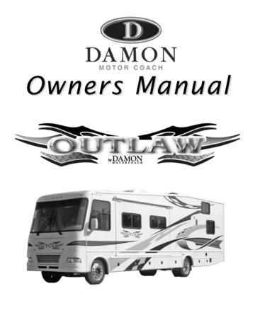2007 Thor Damon Outlaw Owner's Manual Brochure