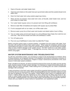 2007 Thor Hurricane Owner's Manual Brochure page 112