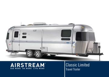 2008 Airstream Classic Limited Brochure