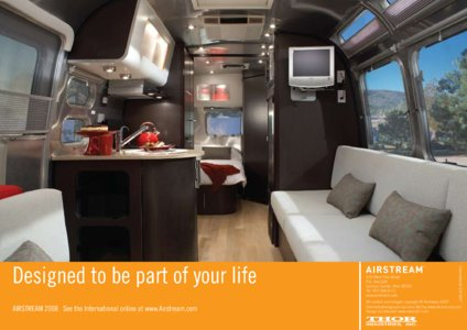 2008 Airstream International Brochure page 16