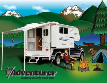 2008 ALP Adventurer Truck Campers Brochure