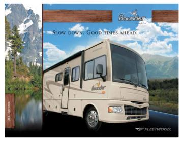 2008 Fleetwood Bounder Brochure