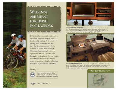 2008 Fleetwood Southwind Brochure page 2