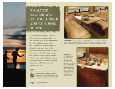 2008 Fleetwood Southwind Brochure page 4