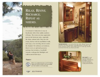 2008 Fleetwood Southwind Brochure page 6