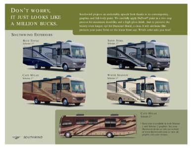 2008 Fleetwood Southwind Brochure page 8
