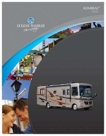 2008 Holiday Rambler Admiral Brochure