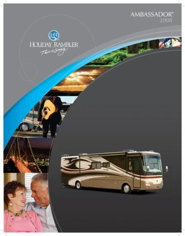 2008 Holiday Rambler Ambassador Brochure