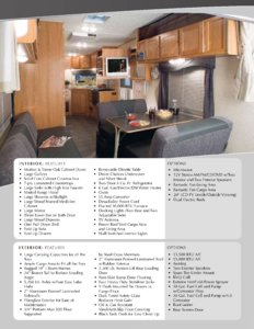 2008 Holiday Rambler Black Diamond Brochure page 3