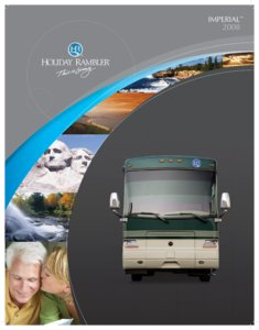 2008 Holiday Rambler Imperial Brochure page 1