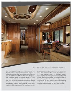 2008 Holiday Rambler Imperial Brochure page 3