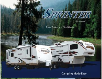 2008 Keystone RV Sprinter Brochure