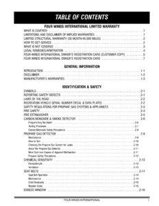 2008 thor four winds owner s manual brochure rv brochures download rh recreationalvehicles info 2008 Four Winns 2008 Dutchmen Four Winds