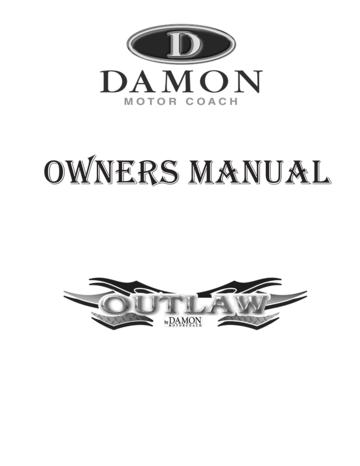 2008 Thor Outlaw Owner's Manual Brochure