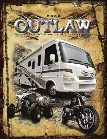 2008 Thor Outlaw Brochure