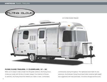 2009 Airstream Flying Cloud Brochure