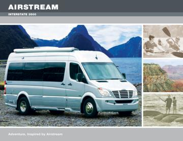 2009 Airstream Interstate 3500 Brochure