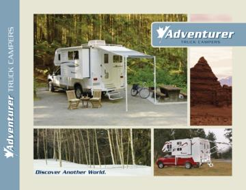 2009 ALP Adventurer Truck Campers Brochure