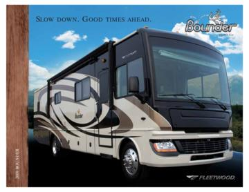2009 Fleetwood Bounder Brochure