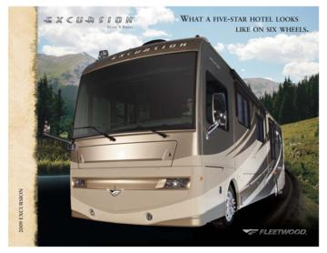 2009 Fleetwood Excursion Brochure
