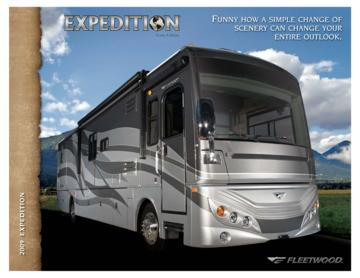 2009 Fleetwood Expedition Brochure