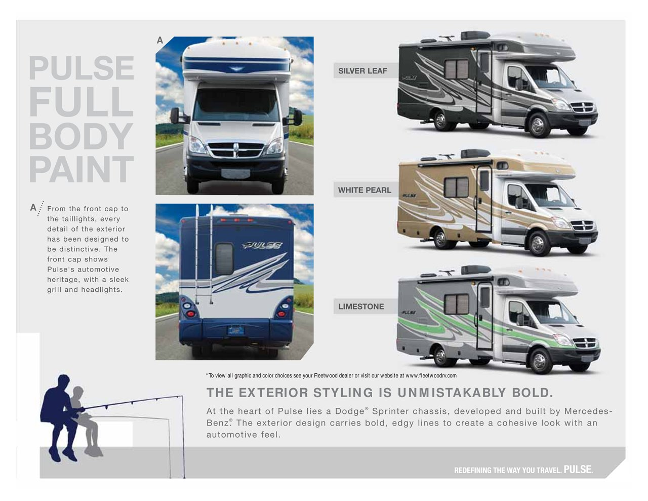 2009 Fleetwood Pulse Brochure | Download RV brochures