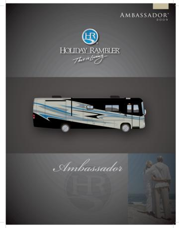 2009 Holiday Rambler Ambassador Brochure
