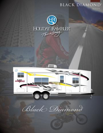 2009 Holiday Rambler Black Diamond Brochure