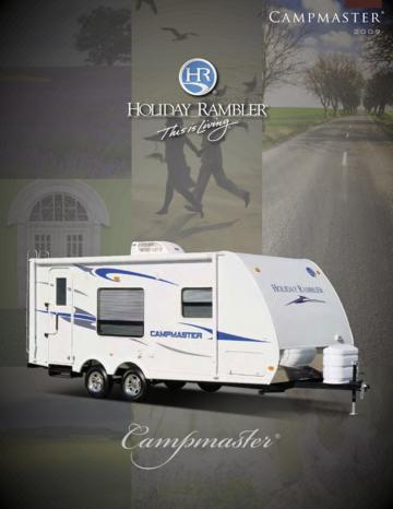 2009 Holiday Rambler Campmaster Brochure