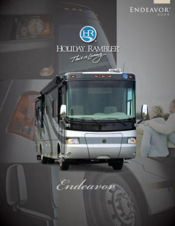 2009 Holiday Rambler Endeavor Brochure