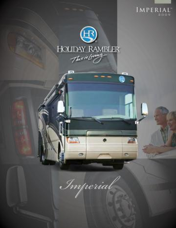 2009 Holiday Rambler Imperial Brochure