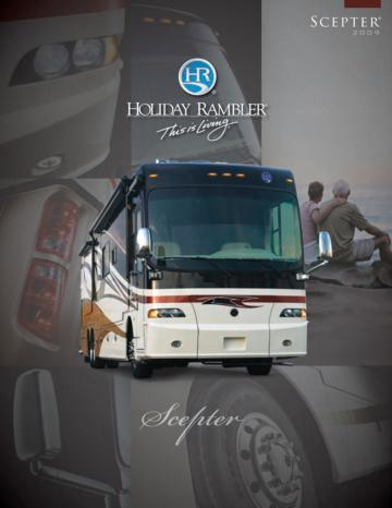 2009 Holiday Rambler Scepter Brochure