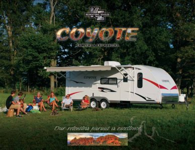 2009 KZ RV Coyote Brochure page 1