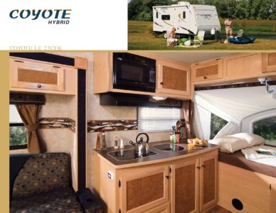 2009 KZ RV Coyote Brochure page 2