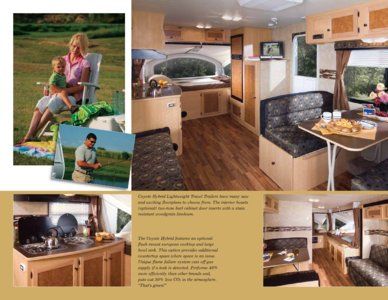 2009 KZ RV Coyote Brochure page 3