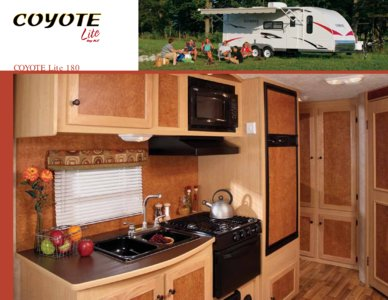 2009 KZ RV Coyote Brochure page 4