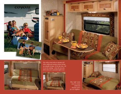 2009 KZ RV Coyote Brochure page 5