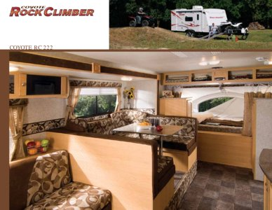 2009 KZ RV Coyote Brochure page 6