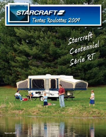 2009 Starcraft Folding Camping Trailers French Brochure