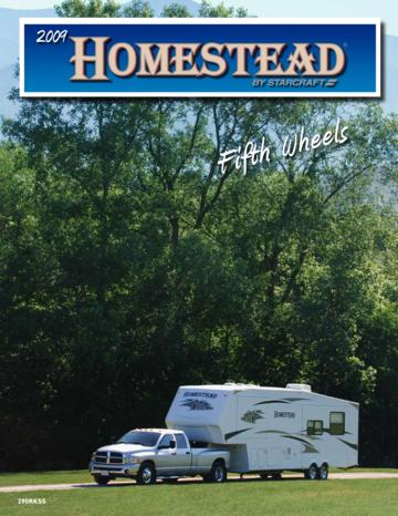 2009 Starcraft Homestead Brochure