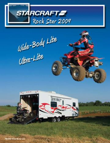 2009 Starcraft Rock Star Toyhaulers French Brochure