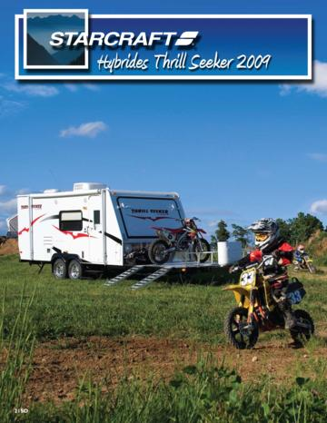 2009 Starcraft Thrill Seeker Expandables French Brochure