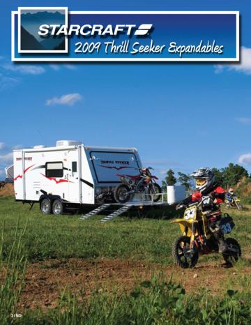 2009 Starcraft Thrill Seeker Expandables Brochure