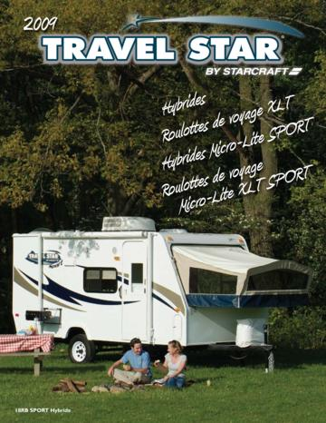 2009 Starcraft Travel Star French Brochure