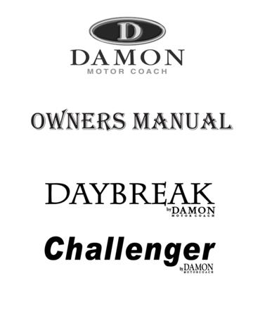 2009 Thor Challenger Owner's Manual Brochure