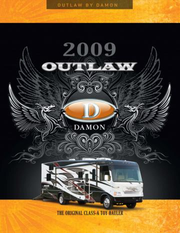 2009 Thor Outlaw Brochure