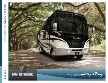 2009 Tiffin Allegro Bay Brochure