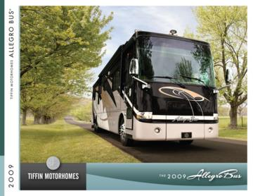 2009 Tiffin Allegro Bus Brochure